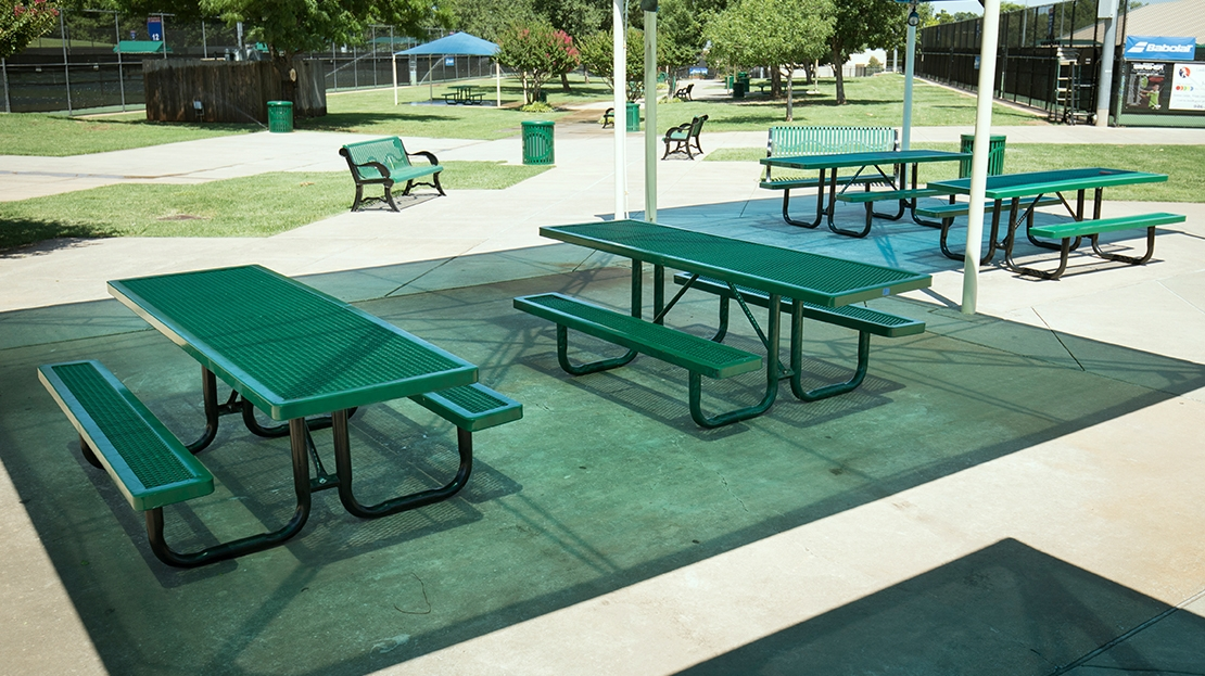 campus site furnishings